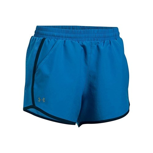 Under Armour Fly By Short 3'' 1297125-437 Womens Blue shorts
