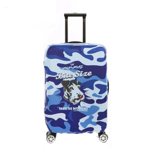 Wear-resisting Elastic Luggage Cover Dustproof Bags Suits for 18-20 Inch Luggage