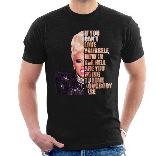RuPaul Half Head Text Men's T-Shirt