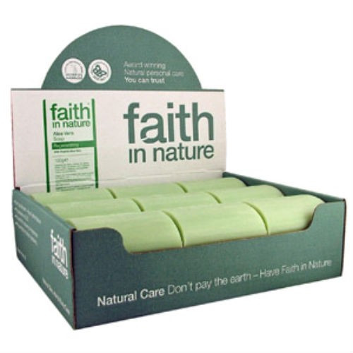 Faith in Nature Lavender Soap Unwrapped X 18 Box
