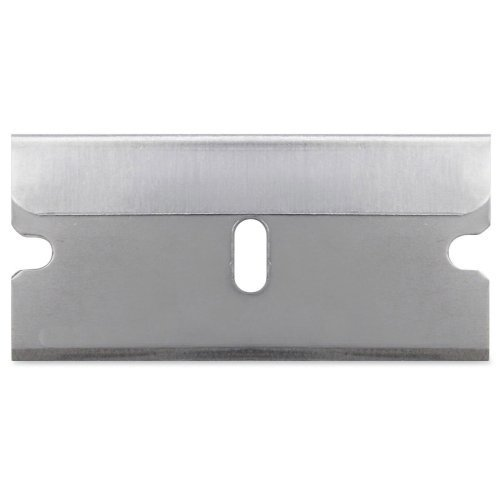 Sparco Tap Action Razor Knife Refill Blades 1 50 Length x 1 Thickness Straight Style Steel 5 Pack Stainless Steel