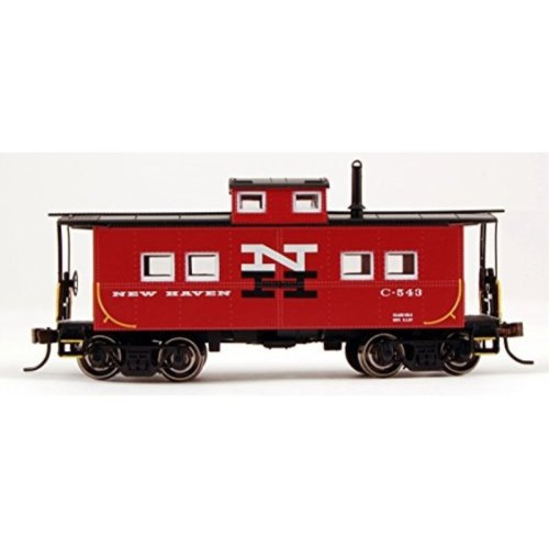 Bachmann Industries New Haven #C-543 Northeast Steel Caboose (HO Scale Train)