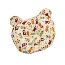 Adorable Soft  Anti-roll Pillow Prevent Flat Head-Lovely Bear