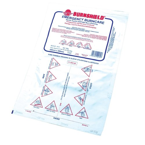 Burnshield Burn Dressing 20 X 20cm (sterile And Individually Wrapped)