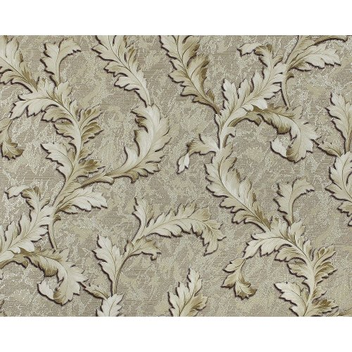 EDEM 9010-38 Flowers non-woven wallcovering shiny grey green 10.65 sqm
