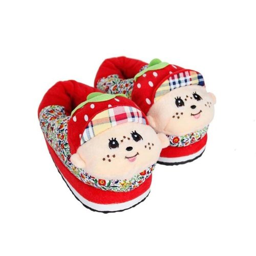 [#4] Creative Heating Shoes Warm USB Electric Heated Slipper usb Foot Warmer for Winter 22.5cm
