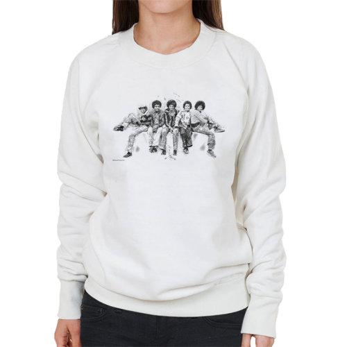 Jackson 5 At Hyde Park Corner 1977 Women's Sweatshirt