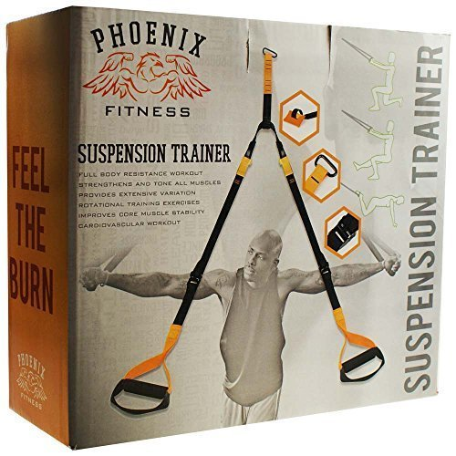 Suspension/resistance Trainer - Suspension Straps Phoenix Training Resistance -  trainer suspension straps phoenix training resistance home gym kit