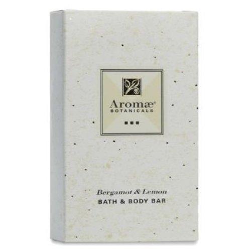 Aromae, 1.5 ounce Bergamot and Lemon Body Soap (Bar), Individually Packaged in PaperCardboard Carton, 200 Bars per Case