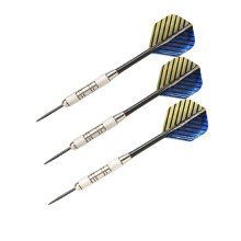 Set of 3 Tungsten Steel Tip Darts with Refined Copper Barrel (24 Grams)