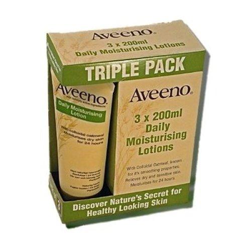 Triple Pack, Aveeno Daily Moisturising Lotion(3x 200ml)