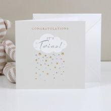 Bambino Deluxe Card - It's Twins