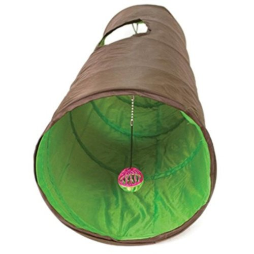 "Ware Manufacturing Nylon Fun Tunnel for Cats, Length 53"" (4.5 feet)"