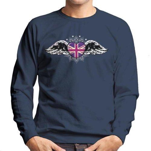 The Heart Of Britain Men's Sweatshirt