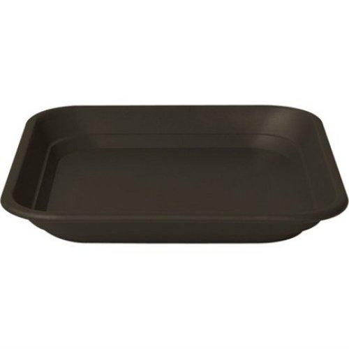 Stewart Garden Balconnière Square Tray - To Fit 40cm Balconnière Pot - Black (2150005)