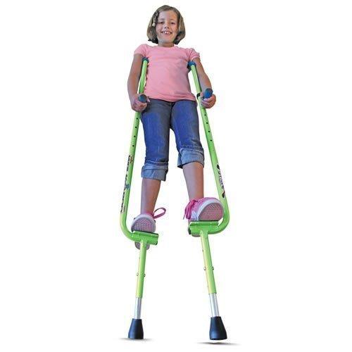 WALKAROO XTREME Steel Balance Stilts with Height Adjustable Vert Lifters by Air Kicks