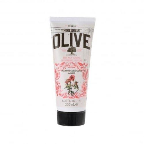KORRES Pure Greek Olive Natural Olive Verbena Body Cream, Vegan