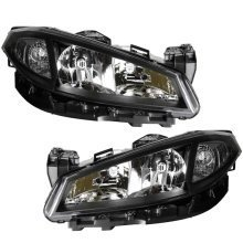 Renault Laguna Mk2 5/2005-2007 Headlights Headlamps 1 Pair O/s & N/s
