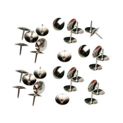 Creative Metal Push Pins/Sharp And Durable Pushpins/300 Piece, Silver