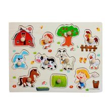 Creative Children Wooden Puzzle Children Funny Educational Toys