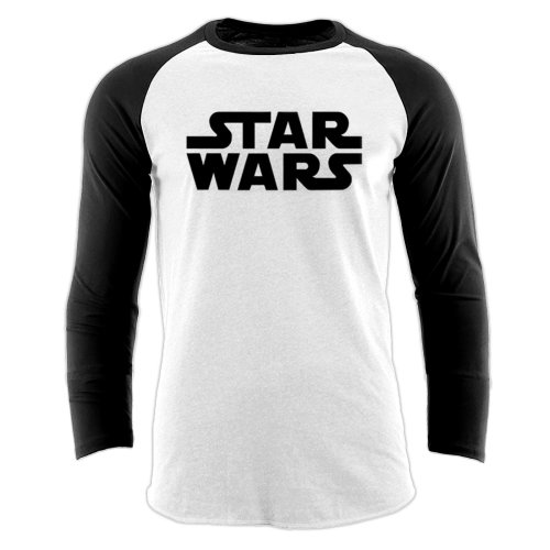 Star Wars Adults Unisex Adults Logo Design Baseball Shirt
