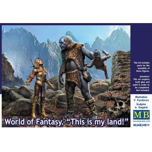 "Mas24011 - Masterbox 1:24 - World of Fantasy "" This is My Land """