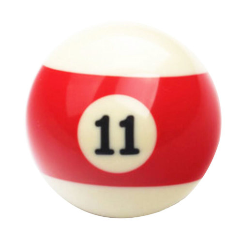 1 PCS Cue Sport Snooker USA Pool Billiard Balls 57.2 mm /2-1/4 - NO.11