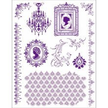 Viva Decor Clear Stamp Set - Cameo