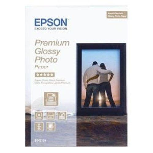 Epson Premium Glossy Photo Paper, 100 x 150 mm, 255g/m2, 40 Sheets photo paper