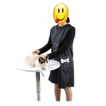 1Pcs  Waterproof Apron With Pockets Dog Cat Pet Grooming Bathing 2 Size CHOICES