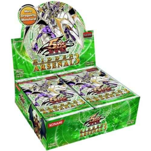 YuGiOh 5Ds Hidden Arsenal 3 Booster Box 24 Packs