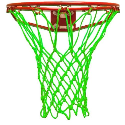 Krazy Netz KNC6703 Basketball Hoops Net In Lime Green
