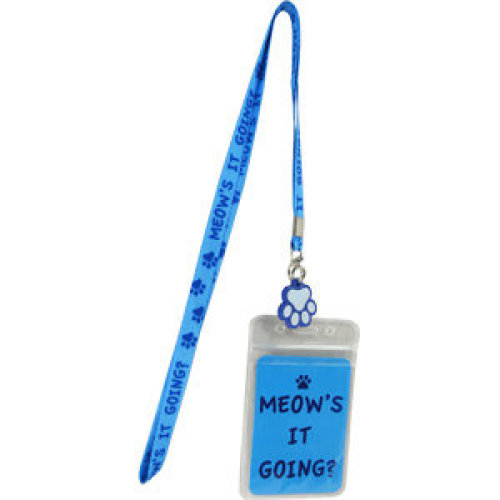 Lanyard - Cats - Meows it Going? Toys Gifts Licensed lan-ht-0003