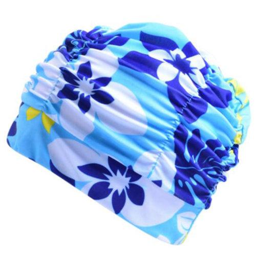 Soft Fashion Cloth Caps Large Ear Protection Pink Swim Caps
