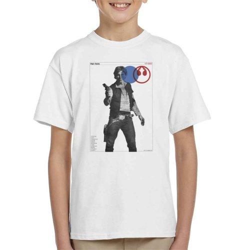 Star Wars Han Solo YT 1300 Millennium Falcon Kid's T-Shirt