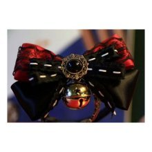 Pet Accessories Bow - Cats and Dogs Tie Bells-Black