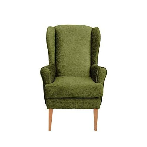 MAWCARE Darcy Orthopaedic High Seat Chair - 21 x 18 Inches [Height x Width] in Darcy Lime (lc21-Darcy_d)