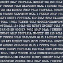 wallpaper all sports navy blue - 115623