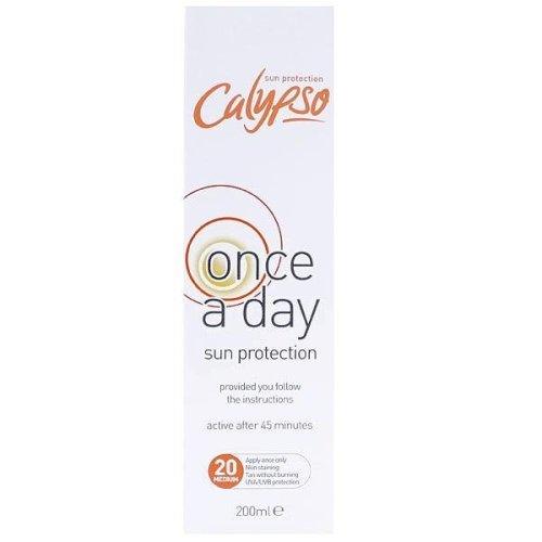 Calypso Once A Day Sun Protection SPF20 200ml