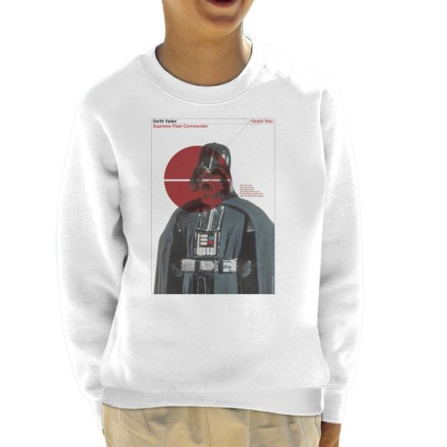 Star Wars Darth Vader Supreme Fleet Commander Kid's Sweatshirt