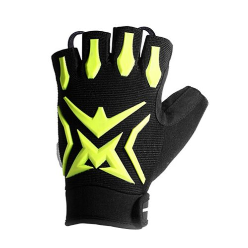 Cool Mountain Bicycle Cycling Gloves Non-slip Breathable Gloves BLACK