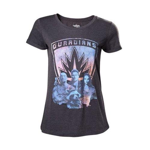 Guardians Of The Galaxy 2 Guardians Girls Shirt Mottled Dark Grey L Size