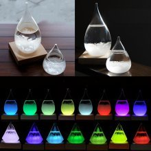 Gradient RGB LED Light-emitting Base Multicolor Lamp
