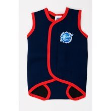 Splash About Baby & Toddler Wetsuit/Swim Wrap Navy and Red
