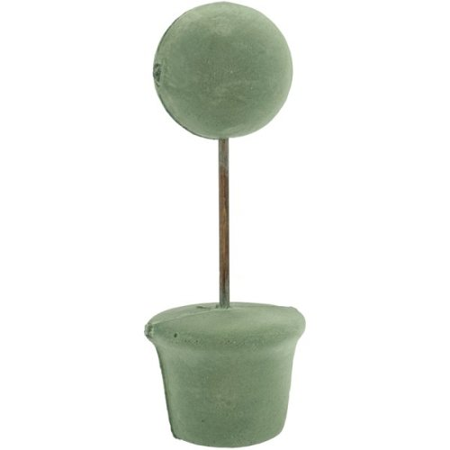 "Topiary Form Bulk-3"" Ball, 3"" Base, 10.5"" Tall"