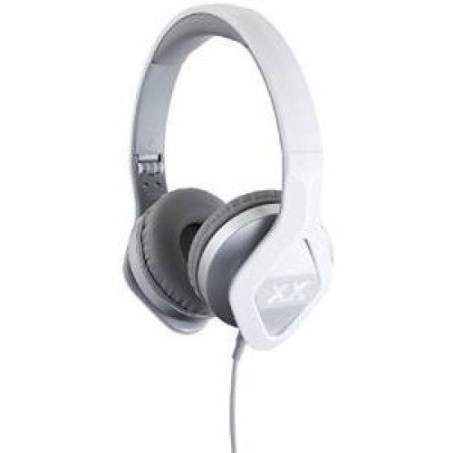 JVC Xtreme Xplosives XX Club Sound On-Ear Headphones - Silver