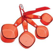 Zyliss Measuring Cup Set in Translucent Red