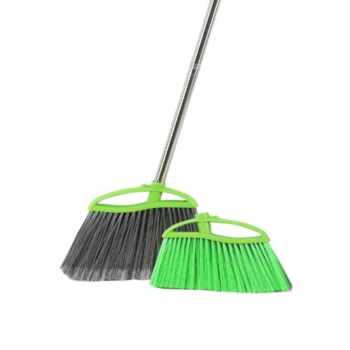 Angle Broom with Replaceable heads Use for Indoors or Outdoors Easy for Brooming, Sweeping, Cleaning, Housekeeping