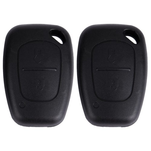 SurePromise 2x 2 Button Remote Key Fob Case Replacement