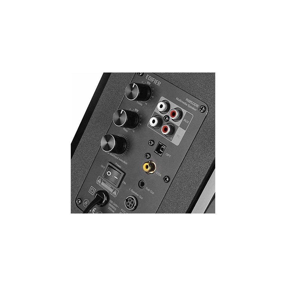 857dfdd02c56ab ... Edifier R1850DB Active Bookshelf Studio Speakers with Bluetooth - Matt  Black - 2 ...